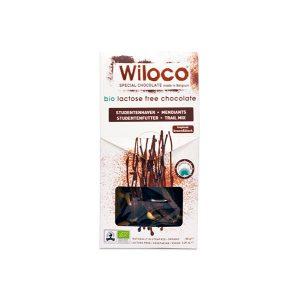 Wiloco Trail Mix Tropical Castanho e Preto Bio