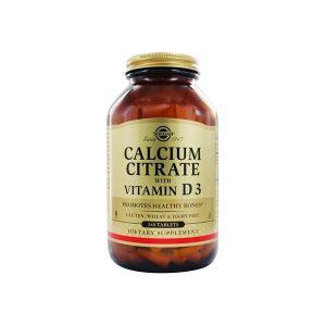 Cálcio Citrate com Vitamina D