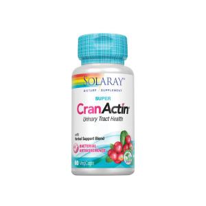 Cranactin é um produto à base de Arando Vermelho indicado para a manutenção do trato urinário saudável.