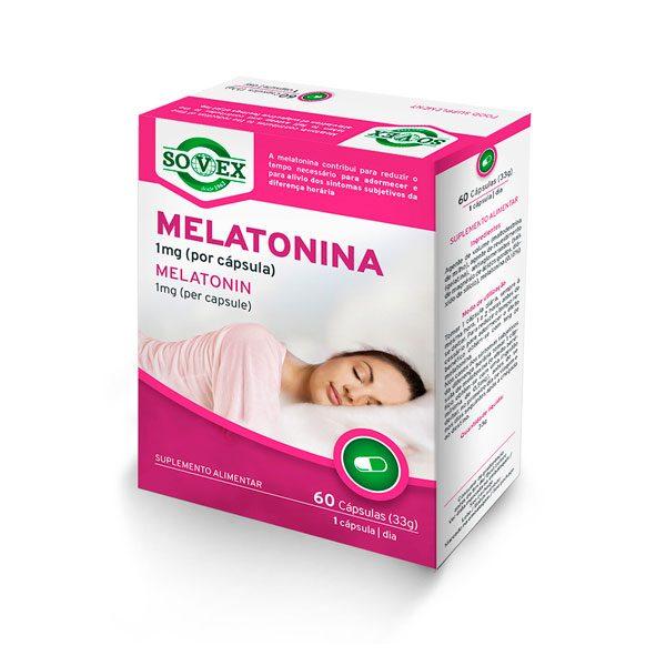 Melatonina 60 Cápsulas