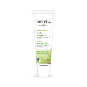 Fluido Matificante Weleda é um creme com acabamento mate que hidrata intensamente e uniformiza a pele.