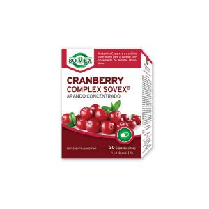 Cranberry Complex - Suplemento alimentar para manutenção e reforço do sistema urinário.