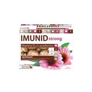 Imunid Strong reforça o sistema imunitário, aumentando as defesas naturais