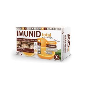 Imunid Total reforça o sistema imunitário aumentando as defesas naturais e protege as células contra as oxidações indesejáveis.